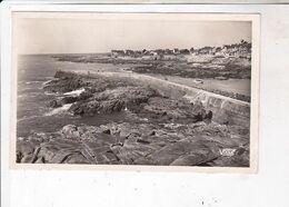 CPA PHOTO DPT 44 BATZ, LA JETEE En 1951! - Batz-sur-Mer (Bourg De B.)