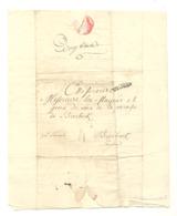 Lettre Envoyée Au Mayeur De BIERBEEK, Concernant L'hébergement Des Déserteurs  En 1784 - Pays-Bas Autrichien (b284) - Manoscritti