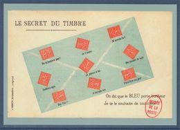 Type MonTimbraMoi International 20g Entier Carte Postale Langage Des Timbres, Le Secret Du Timbre - Entiers Postaux