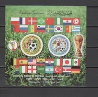 Tunisia 2002 Football Soccer World Cup S/s MNH - 2002 – South Korea / Japan