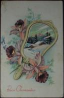 BUON ONOMASTICO - Viaggiata Nel 1954 - Formato Piccolo - Fêtes - Voeux
