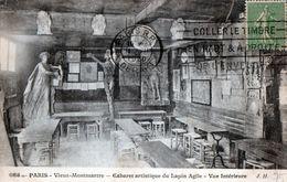 Cpa(75)--paris - Vieux-montmartre - Cabaret-artistique Du Lapin  Agile - Vue Interieure. - Distrito: 18