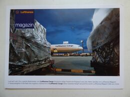 LUFTHANSA       AIRLINE ISSUE / CARTE COMPAGNIE - 1946-....: Ere Moderne