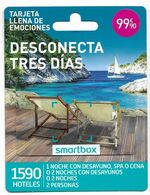 Smartbox, Desconecta Tres Días, Gift Card For Collection On Its Backer, No Value, # Sb-3 - Gift Cards