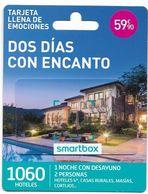 Smartbox, Dos Días Con Encanto, Gift Card For Collection On Its Backer, No Value, # Sb-7 - Gift Cards