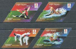 271 - VIETNAM 2008 - Yvert 2298/301 - Sport JO Pekin Chine - Neuf ** (MNH) Sans Trace De Charniere - Vietnam