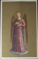 ANGELO MUSICANTE Fra' Beato Angelico Firenze Museo S.Marco - Viaggiata Formato Piccolo - Anges