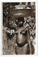 Congo )  OUBANGUI  - Retour Du Travail  (  Femme Seins Nus ) - Otros