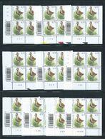Buzin Nr 3269** Blok Van 4  Plaatnr 1 Tot 10 - 1985-.. Birds (Buzin)