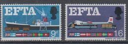 GREAT BRITAIN 1967 EFTA SHIP AVIATION PLANE - 1952-.... (Elisabetta II)