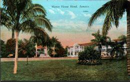 ! Alte Ansichtskarte Jamaica, Manor House Hotel - Jamaïque