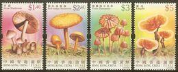 2004 HONG KONG  MUSHROOM STAMP 4V - Unused Stamps