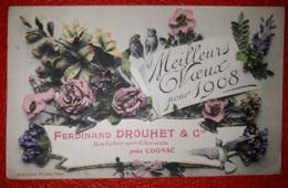 Rochefort  Meilleurs Voeux 1908  Ferdinand Drouhet - Rochefort