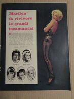 - ARTICOLO MARILYN MONROE FA RIVIVERE LE GRANDI INCANTATRICI  ANNI '60 - Kino