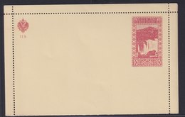 Bosnien Und Herzegowina Ganzsache K 10 Kartenbrief  - Bosnien-Herzegowina