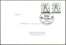 Deutsches Reich Brief MEF 745 Mit SST München Begegnung Hitler - Mussolini 1940 - Deutschland