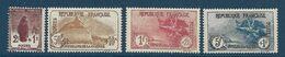 Timbres Neufs* France, N°229-32 Yt,surtaxe Au Profit Des Orphelins De Guerre, Lion, Marseillaise.., Charnière - France