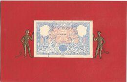 BILLET , Cent Francs - Monete (rappresentazioni)