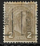Luxembourg 1902 Prifix Nr. 8A - Precancels