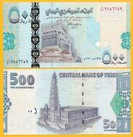 Yemen 500 Rials P-34 2007 UNC - Jemen