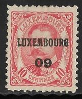 Luxembourg 1909 Prifix Nr. 66 - Precancels