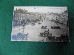VINTAGE BELGIUM: BRUXELLES IXELLES Place Communale Sepia 1920 - Plätze