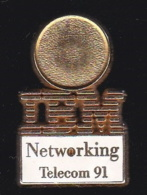 66360- Pin's.International Business Machines Corporation. IBM.Informatique.signé Aubert - Informatique