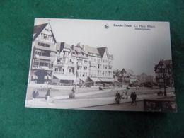 VINTAGE BELGIUM: KNOCKE - ZOUTE La Place Albert Sepia Thill - Knokke