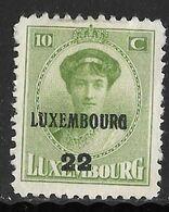 Luxembourg 1922 Prifix Nr. 128 - Precancels