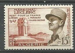 ALGERIE N° 338 NEUF** LUXE SANS CHARNIERE  / MNH - Algeria (1924-1962)