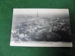 VINTAGE BELGIUM: ANTOING Plaine De Fontenoy Panorama B&w Lespinne - Antoing