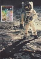 Carte  Maximum  1er Jour    FRANCE   Le  Siécle  Au  Fil  Du  Timbre  :  1er  Pas  Sur  La  Lune   2000 - Cartas Máxima