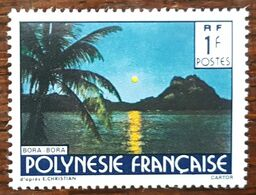 Polynésie - YT N°321 - Paysage - 1988 - Polinesia Francese