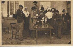 Carte Postale - CPA N°4 - Les Epouseux Du Berry + Paroles Chanson. - Hochzeiten