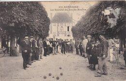 89 AUXERRE La Société Du Jeu De Boules - Auxerre
