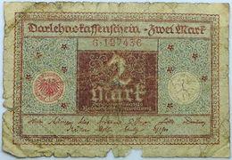 Billete Alemania. 1920. 2 Marcos. República De Weimar. BC - [ 3] 1918-1933 : República De Weimar