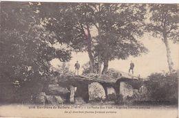 35 RELIERS La Roche Aux Fées ,dolmen - Autres Communes