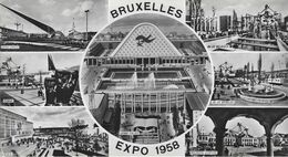 Bruxelles   -   EXPOSITION 1958  -  Formaat:  (21.5 X 11.5)cm  -  Pavillons étrangers. - Weltausstellungen