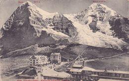 267/ Jungfraubahn , Kleine Scheidegg, 1910, Eigergletscher - BE Bern
