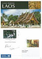 Kiribati Laos Fiji Mali Lot #4 Color Pcards 2010 By M.Carlo Club - Ansichtskarten