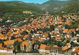 1 AK Germany / Niedersachsen * Blick Auf Die Stadt Herzberg Am Harz - Luftbildaufnahme * - Herzberg