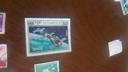 CAMBOGIA CONQUISTA DELLO SPAZIO 1 VALORE - Briefmarken