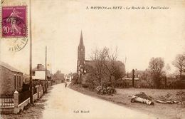 Arthon En Retz * La Route De La Feuillardais * église Du Village - Francia