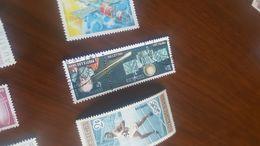 LAOS CONQUISTA SPAZIO E GALILEO 1 VALORE - Briefmarken