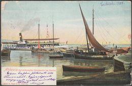 Salondampfer Stephanie Im Hafen, Abbazia, 1905 - Rüger AK - Kroatien