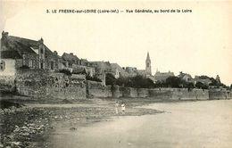 Le Fresne Sur Loire * Vue Générale Au Bord De La Loire - Francia