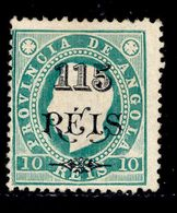 ! ! Angola - 1902 King Luis OVP 115 R (Perf. 12 3/4) - Af. 55 - MH - Angola
