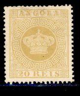 ! ! Angola - 1885 Crown 20 R REPRINT - Af. 03 - No Gum - Angola