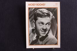 Sp-Acteur/ 1955 - Mickey Rooney Acteur Américain, Né En 1920 à Brooklyn,mort En 2014 à North Hollywood En Californie - Attori