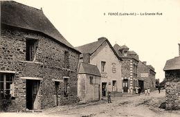 Fercé * La Grande Rue * Café LERAY - Francia